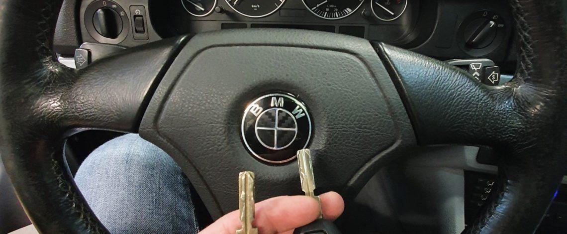 BMW E39 DOROBIENIE KLUCZA Z PILOTEM.