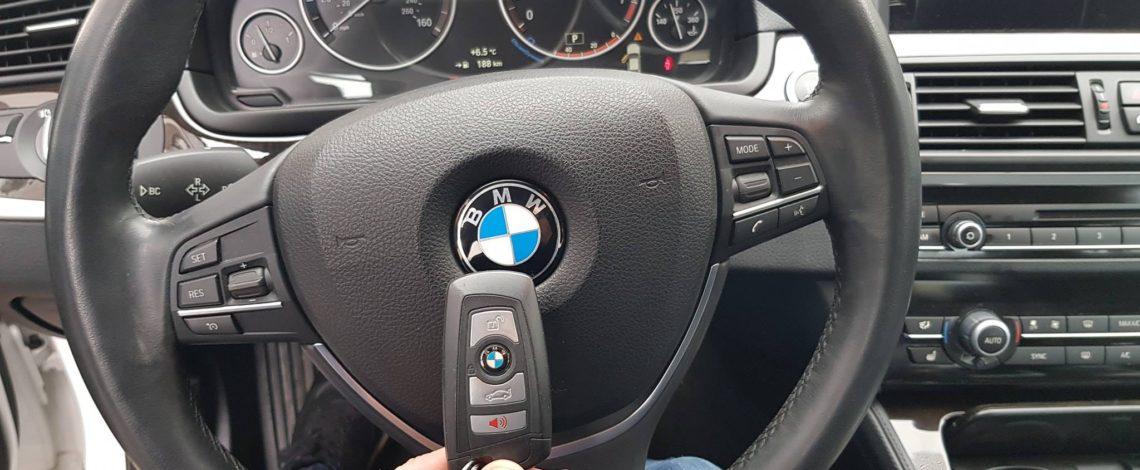 BMW F10 2015 USA DOROBIENIE KLUCZA,