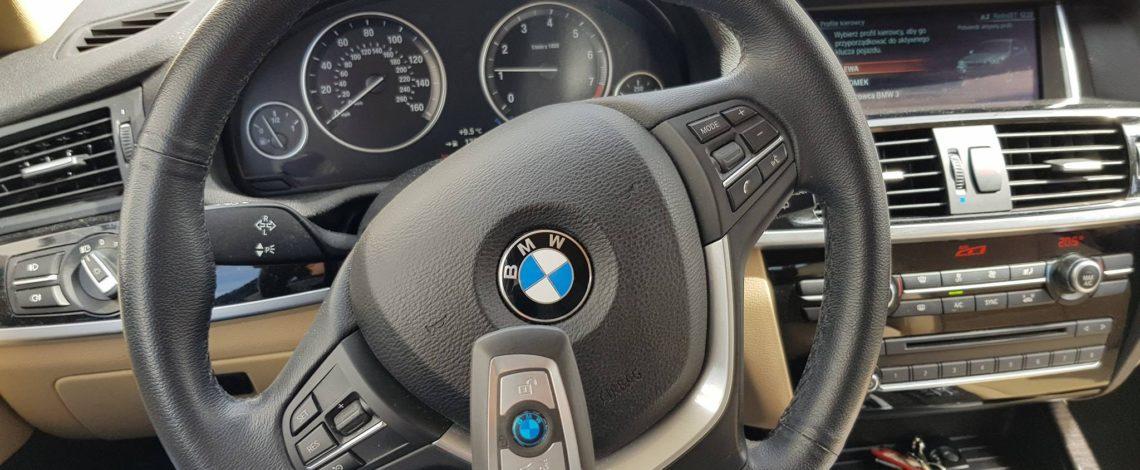 BMW X3 2016 USA DOROBIENIE KLUCZA