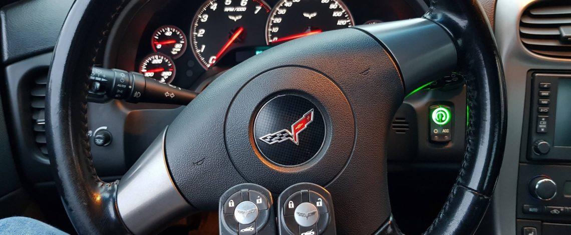 Chevrolet Corvette 2006 dorobienie kluczyka KEYLESS.
