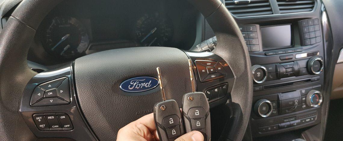 Ford Explorer dorobienie 2 kluczy
