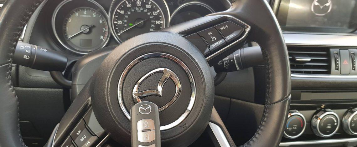 Mazda 6 ATENZA 2017 DOROBIENIE klucza