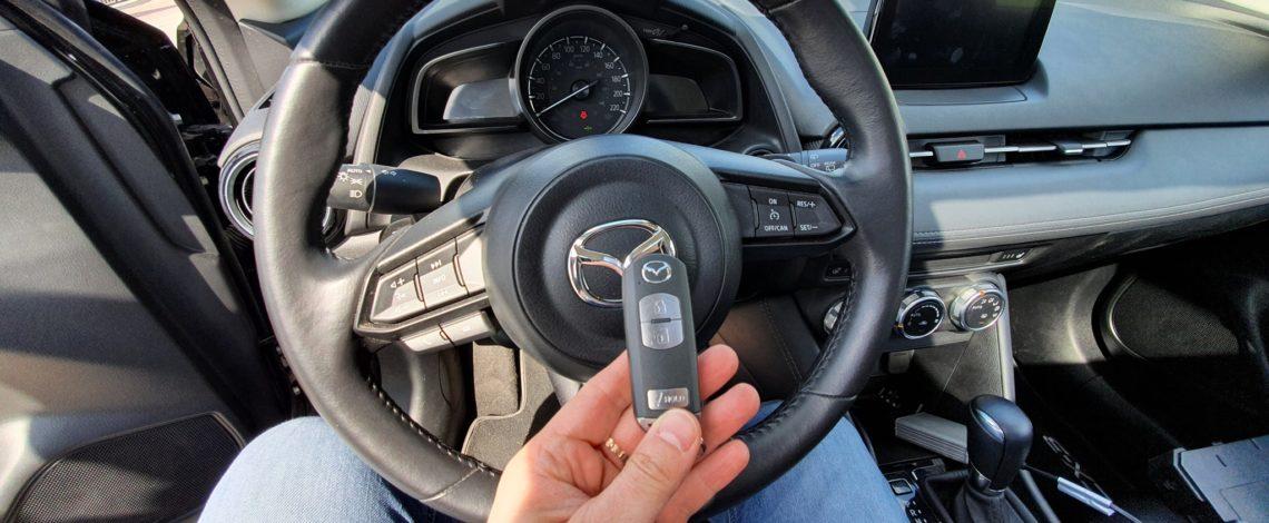 Mazda CX-3 2019 USA DOROBIENIE KLUCZA Z PILOTEM.