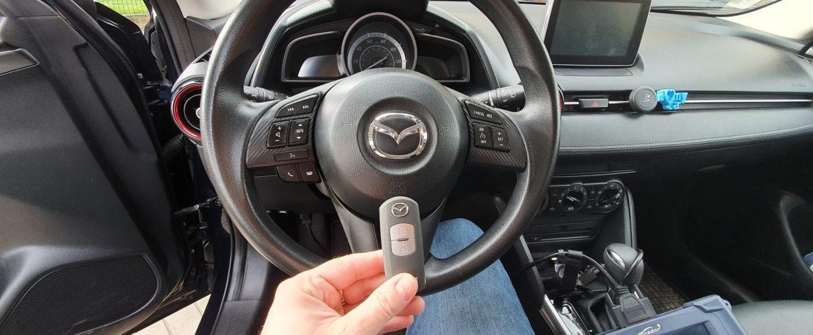 Mazda cx5 2017 dorobienie klucza keyless