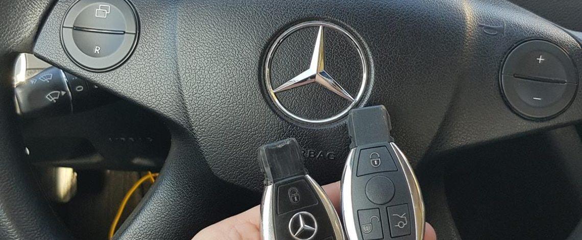 Mercedes W204 2010 Dorobienie klucza.