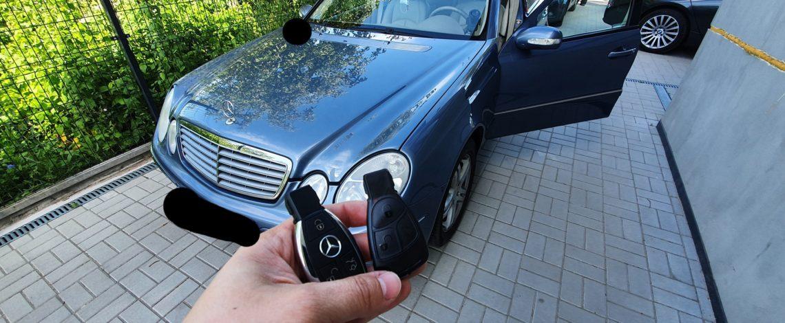 Mercedes W211 2004 dorobienie klucza rybka