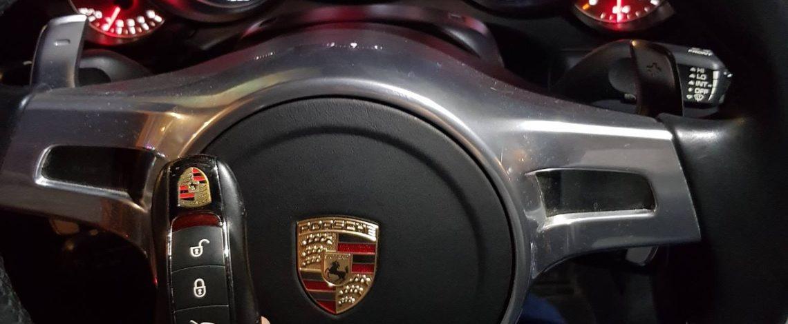 PORSCHE 911 TURBO (991) 2015. Kodowanie KLUCZA.