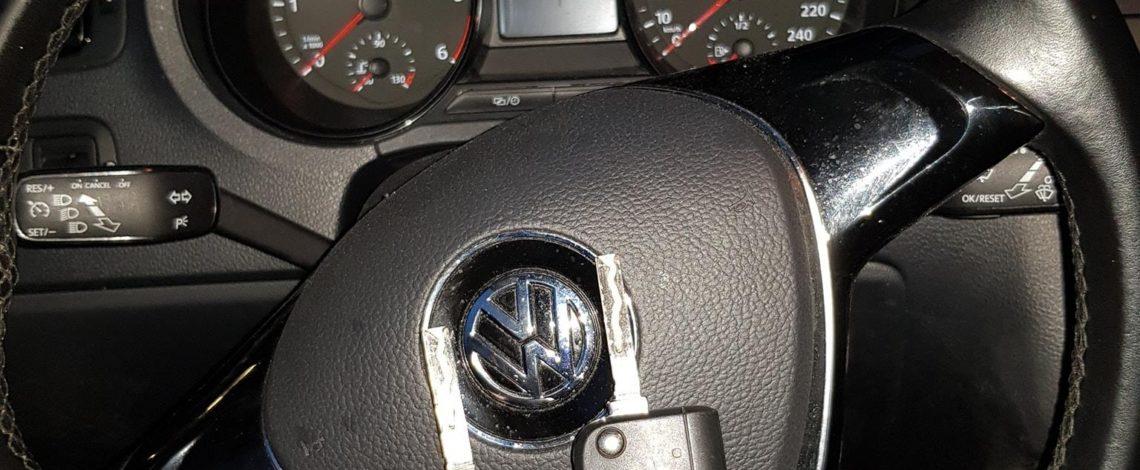 VW POLO 2015 dorobienie klucza platforma MQB.